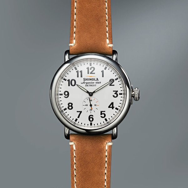 Watch mechanisms are sourced from Switzerland and assembled in the Shinola factory in Detroit. Photo by: Greg Vore