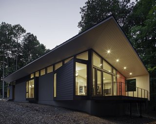 Streamlined Modern Living in the North Carolina Forest - Photo 1 of 10 -