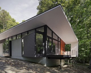 Streamlined Modern Living in the North Carolina Forest - Photo 2 of 10 -