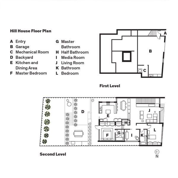 Hill House Floor Plan