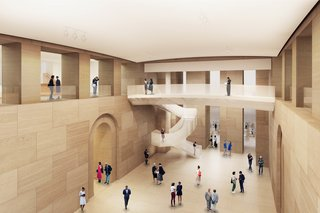 Frank Gehry Unveils Master Plan for Philadelphia Museum of Art - Photo 3 of 6 -