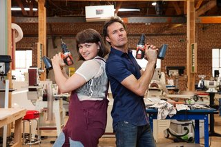 Behind the Scenes with Ellen's Design Challenge Winners Katie Stout and Karl Champley - Photo 1 of 5 -