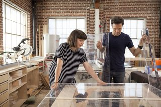 Behind the Scenes with Ellen's Design Challenge Winners Katie Stout and Karl Champley - Photo 2 of 5 -