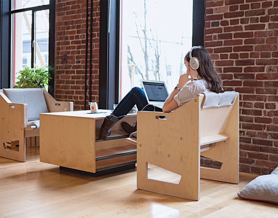 finally office furniture for the laptop workforce dwell