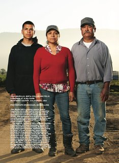 Meet the Modern Farmers: Juan Morillo, Sofia Collin and Felix Cisneros. Photo by: Michael Schmelling/Modern Farmer