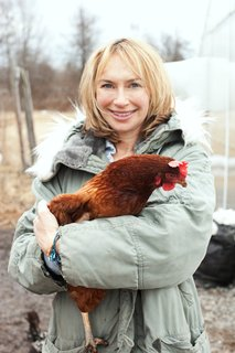 Editor-in-Chief Ann Marie Gardner. Photo by: Mark Hartman/Modern Farmer