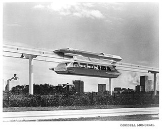 The city's unrealized projects include a 1962 monorail proposal. Photo courtesy Los Angeles Metropolitan.