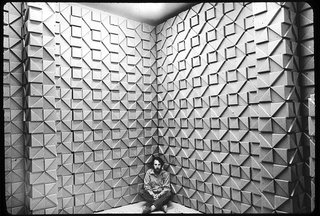 """Jef Raskin, designer of Bloxes and inventor of the Macintosh computer, circa 1970. """"Architecture and the arts in 1970s L.A. contributed to the sense that anythingis possible here—that rules can be broken."""" —Kimberli Meyer, director, Mak Center Photo by: David Wing"""