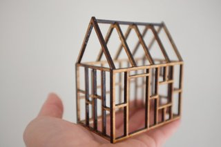 You can even get tiny house frames for a taste of tiny architecture from the start.