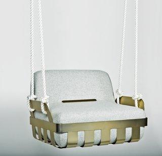 The Nansa indoor swing by Mermeladaestudio.