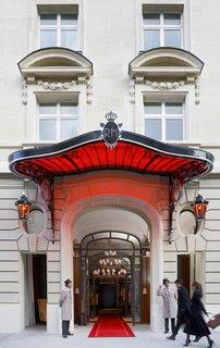 Raffles Paris: A True Art Hotel - Photo 1 of 10 - Le Royal Monceau Raffles' façade on 37 Avenue Hoche.