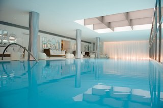 Raffles Paris: A True Art Hotel - Photo 9 of 10 - At the hotel's spa, My Blend by Clarins, guests can blissfully lounge and take a dip at the 23 meter swimming pool, the longest ever built in a Paris luxury hotel.