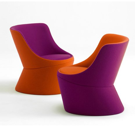 The DIDI chair features the simple design and clean lines that are synonymous with Busk + Hertzog's design aesthetic.