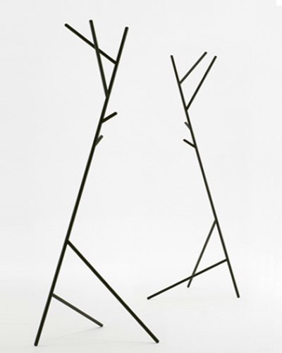 The Penny Coat stand is unconventional and charismatic.