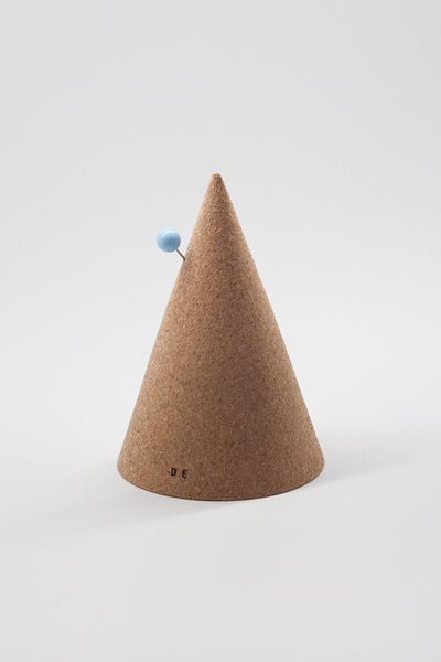 Cork Cone, 2011, $80—The highly durable material shaped like a cone plays office mate, perfect for deterring any pesky pin pokes. Could maybe also double as a party hat.