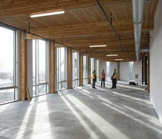 Seattle: Sustainable Future - Photo 1 of 2 - The six-story, 50,000 square-foot structure is the largest building to adopt the Living Building Challenge standards. Photo credit: Brad Kahn