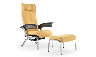 Herman Miller's Nala Patient chair with ottoman.