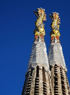 Travel Guide: Barcelona, Spain - Photo 1 of 5 - The towers of Sagrada Família. Photo by: MarcelGermain