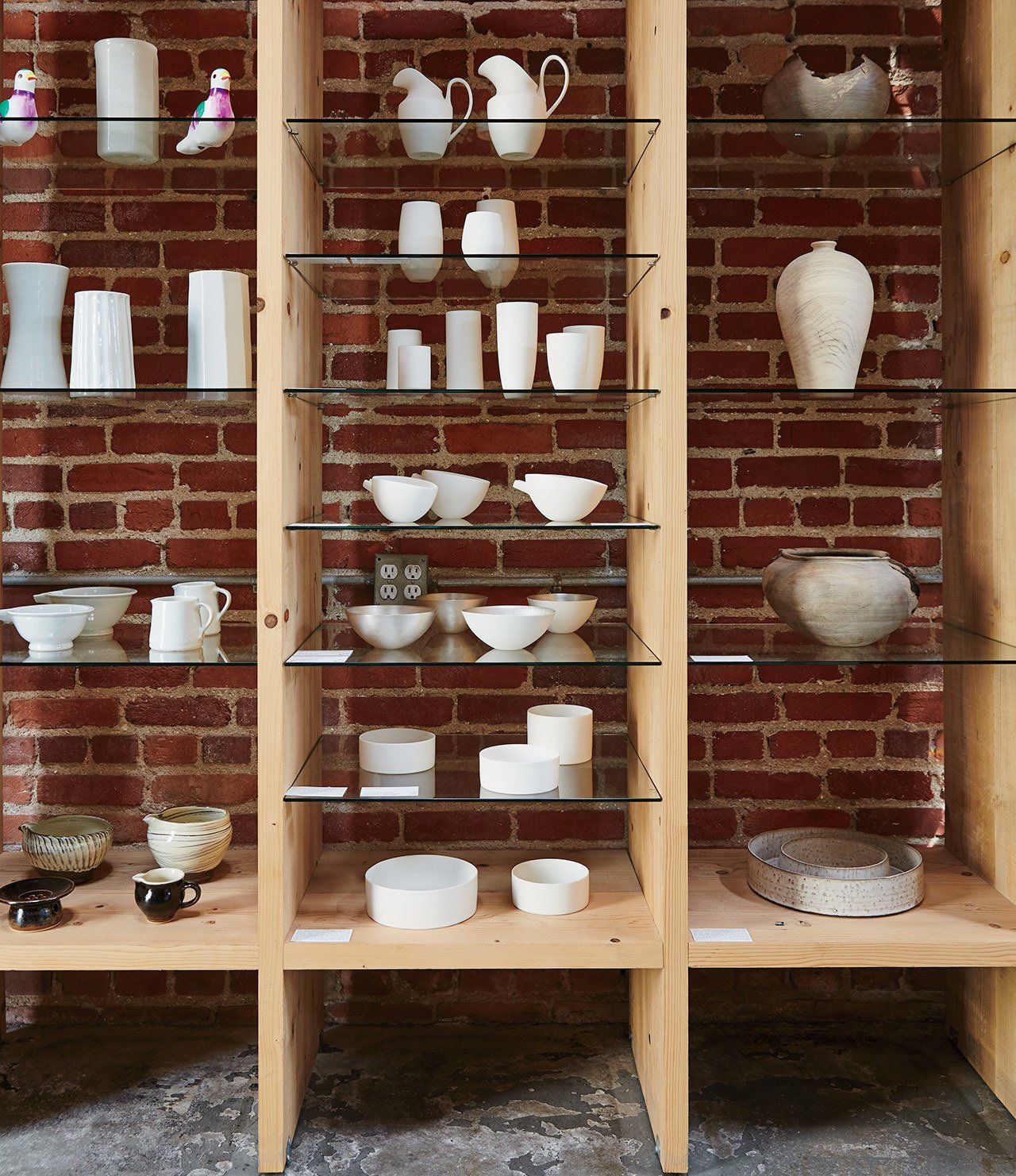 Tucked behind Tortoise General Store is Tortoise, a gallery-like setting where designs from Ryota Aoki, Hiroto Nakanishi, and Masanobu Ando are on display.  Photo 2 of 6 in A Cute Mom-and-Pop Shop in L.A. Showcases the Latest Japanese Design