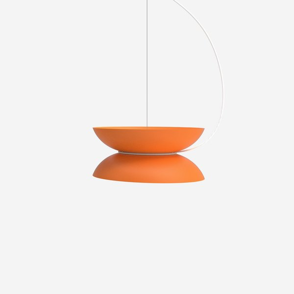 Neyer is also working on prototype for a pendant lamp inspired by a yo-yo.