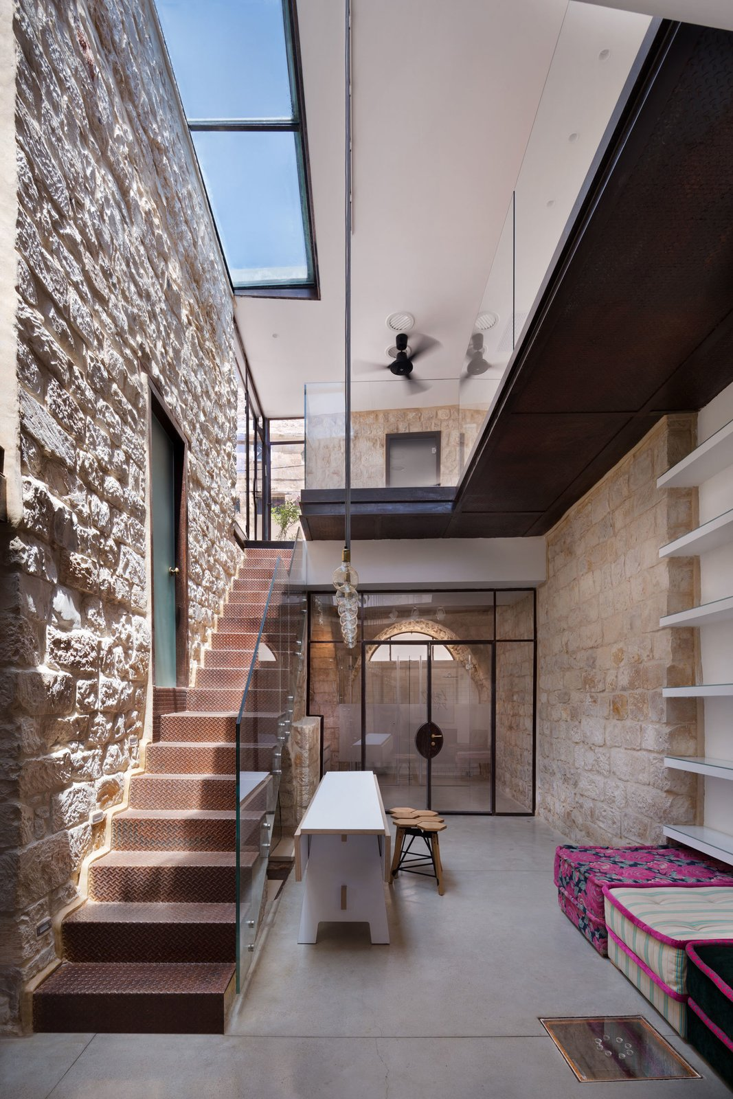 A 250 Year Old Stone House In Israel With A Surprisingly Modern Interior