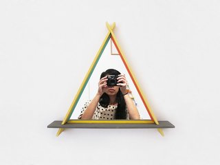 Product Spotlight: A-Frames by Chiaozza - Photo 4 of 5 - This one even comes with a mirror!