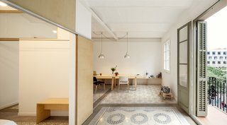 1930s Barcelona Apartment Gets a Minimal Makeover - Photo 2 of 8 -