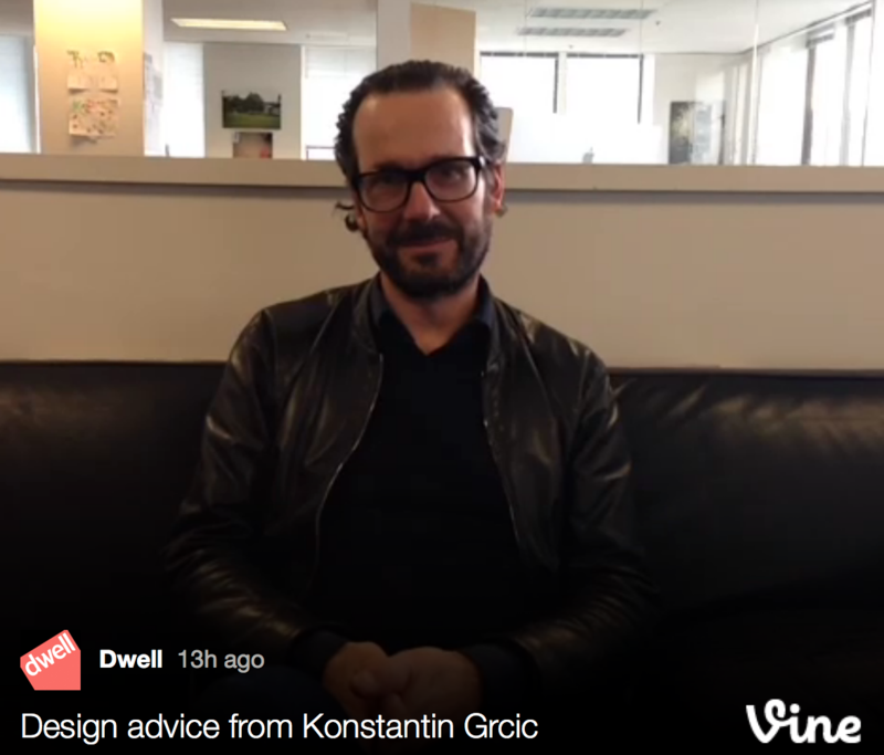 12 Seconds with Konstantin Grcic - Photo 1 of 1 -