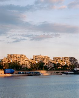 The exterior of Moshe Safdie's Habitat 67 shot for The Pert Weisgerber Residence in our Dec/Jan 2013 issue.