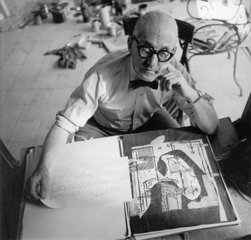 Roll 'em if you got 'em. Corbu shows that even when working hard you can still look effortless.