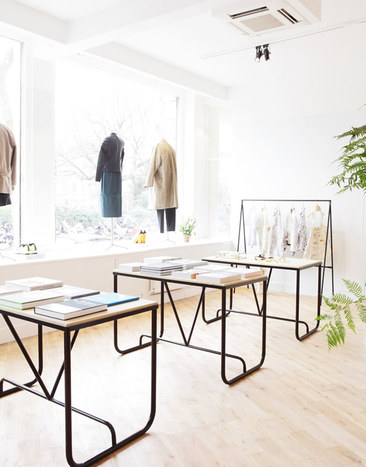"""""""We wanted to surround ourselves with people we love, who have joined the project and helped through their respective expertise to translate the best of what we wanted to offer in this place. """" Photo via Hit Bag.  Beautifully Designed Retail Stores by Eujin Rhee from Parisian Concept Store: The Broken Arm"""
