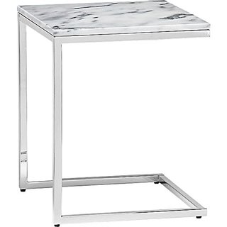 Product Spotlight: Modern Side Tables - Photo 1 of 3 - Smart Marble Top C table by CB2, $129