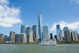 Around Manhattan Architectural Boat Tours by AIA New York - Photo 2 of 13 - With its spire recently raised, One World Trade Center by Skidmore Owings & Merrill became the tallest building in the city. It joins good company with the nearby World Financial Center and Goldman Sachs.