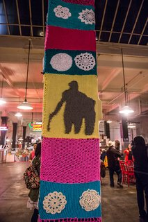 Yarn Bombing Uses Knitting as a Public Art Form - Photo 4 of 5 -