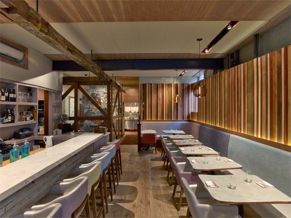 Blenheim Restaurant (New York, NY), designed by CCS Architecture and Morton Sohlberg.