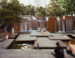 8 Great Examples of Outdoor Design - Photo 2 of 8 - Lawrence Halprin's pioneering efforts carving out urban spaces for all to enjoy still resonate and provide a framework for today and tomorrow's generation of city planners and urban activists.