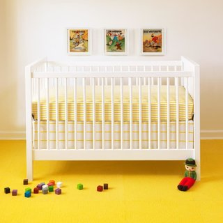 20 Cool Cribs for the Modern Baby - Photo 11 of 20 - Unison is known for its gender-neutral bedding: Stripes and jaunty prints suitable for baby boys or girls are equally appealing to design-minded parents. (Sailor + Regatta crib set from Unison, $44–74)