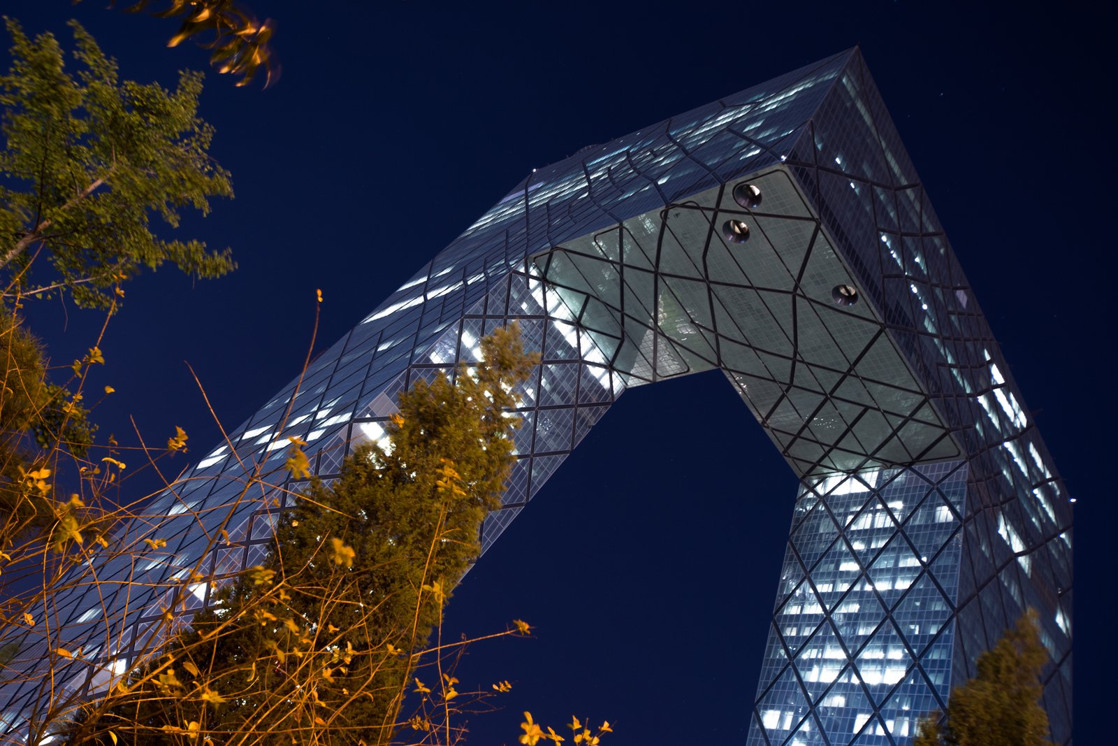 The CCTV tower designed by Dutch architect Rem Koolhaas was meant to be the headquarters for China Central Television when builders broke ground in 2004, but it was only over the past year that CCTV staff started moving into the building in significant numbers.