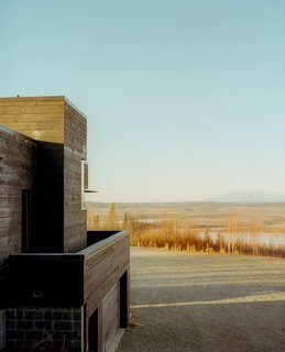 101 Best Modern Cabins - Photo 54 of 101 - One of the most astounding views from the house extends all the way to Mt. McKinley, the highest point in North America at over 20,000 feet.