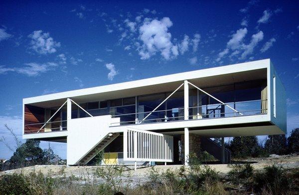 Julian Rose House, Wahroonga, Sydney, 1949-50. Photo © Max Dupain
