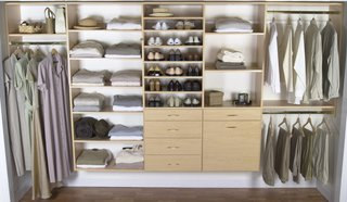 Don't be afraid to invest in organization systems for your office, closet, and bedroom. They can make all the difference!
