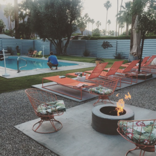 Photo of the Week: Colorful Outdoor Lounge Chairs