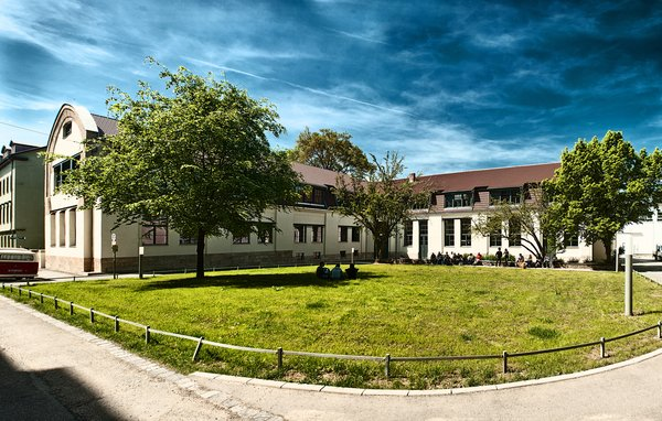 Van de Velde designed this smaller building of Bauhaus University in 1905. He took particular care to arc the building to give the inside a cavernous effect. This building is also listed as a UNESCO World Heritage Site.