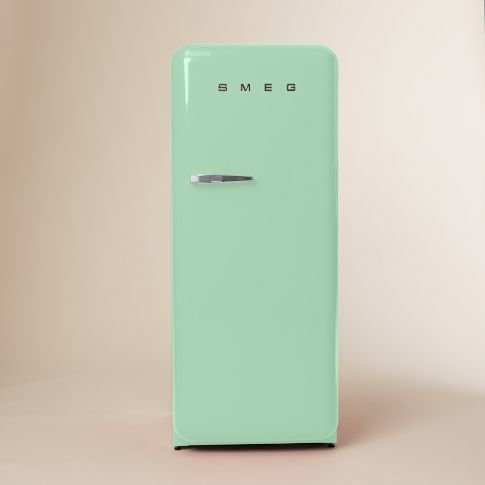 Stick with a classic red, black, or mint green Smeg (pictured) $1,999  Deco luv... by Renee from Kitchen Essential: Smeg Refrigerator