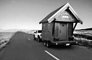 10 Tiny Homes You Can Build - Photo 6 of 10 - Jay Shafer's Four Lights Tiny House Company sells floor plans for houses that start at 98 square feet. The Gifford is a craftsman-inspired, 112-square-foot structure that can be wheeled from site to site. Shafer has designed a residential community of micro-dwellings in Sonoma County, California.