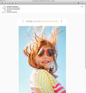 Promo Daily: Emily Merrill - Photo 1 of 1 -