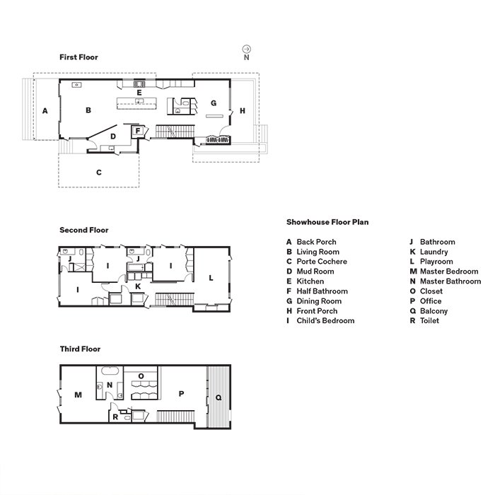 Showhouse Floor Plan