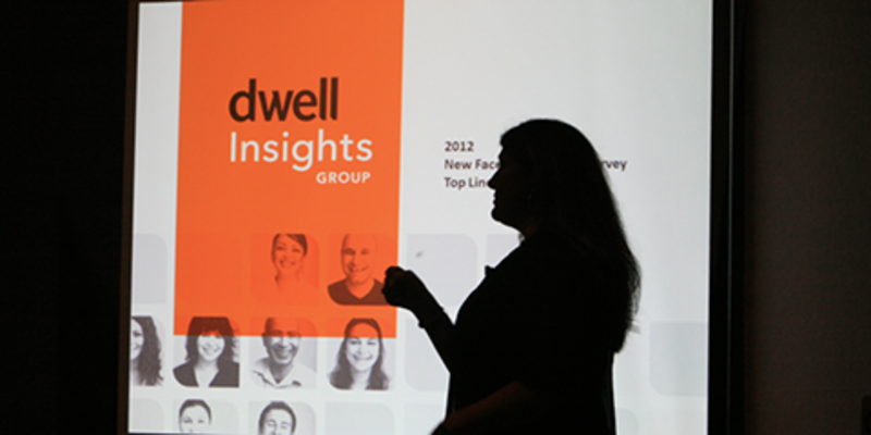 "Dwell President Michela O'Connor Abrams presents the popular ""New Face of Affluents"" session."