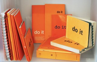 "Do It: The Compendium by Hans Ulrich Obrist - Photo 2 of 11 - According to ICI:<br><br>""Featured in at least 50 different locations worldwide, including Australia, China, Denmark, France, Germany, Mexico, Costa Rica, Slovenia and Uruguay… The driving force behind the exhibition is aptly summarized in the words of Marcel Duchamp, who states that 'art is a game between all people of all periods.' He is only one of several predecessors to have shaped the modus operandi of [do it], which also draws from…art of the 1960s and 1970s as well as Fluxus practices."" Called a ""middle finger to Art"" by some, this project deliberately tries to hone the anything goes attitude which has fueled revelatory movements ranging from Conceptual and Minimalism to punk rock."