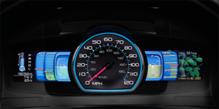 Formosa's SmartGauge design for Ford. Photo courtesy of The Ford Motor Company.